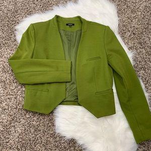 Olive Green Blazer by Premise Size 10